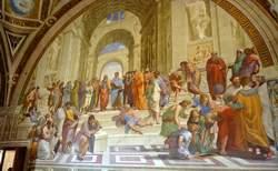 Musée Vatican : chambre de la signature (chambres de Raphaël)